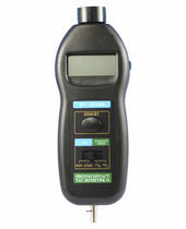 digital hand held photoelectric tachometer 2.5 - 999.9, 1000 - 99999  rpm | HP-2236B    Zhuhai Jida Huapu Instrument Co., Ltd.