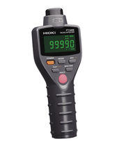 digital hand held tachometer (30.00 - 199.99) to (20000 to 99990) r/min | FT3405 HIOKI E.E. CORPORATION