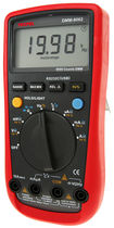 digital multimeter with thermometer max. 1000 V DC, 750 V AC, 10 A, - 40 to 1000 °C | DMM-8062   Tecpel  Co., Ltd.