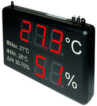 digital panel indicator for temperature and humidity DC20 DITEL