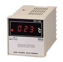 digital temperature alarm and indicator max. 3 VA | HY-72I HANYOUNG