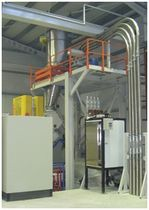 dilute phase pneumatic conveying system  SAFMAK
