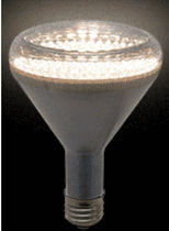 dimmable LED bulb 120 VAC | R30-123_D LEDtronics
