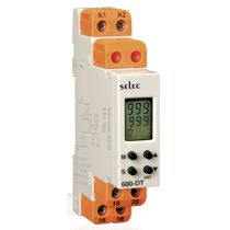 DIN rail mount analog timer 17.5 mm | 600DT SELEC Controls Pvt. Ltd.