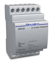 DIN rail mounted AC voltage transducer 1CORUA Revalco