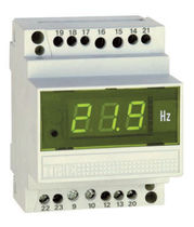 DIN-rail mounted digital frequency meter 100 - 500 V, 10 - 100 HZ | DGMS IME