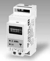DIN-rail mounted single phase electric energy meter EM1-DIN CARLO GAVAZZI