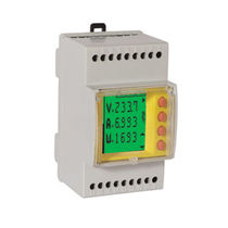 DIN-rail mounted single phase electric energy meter max. 6.6 kVA | EASYPOWER DOSSENA