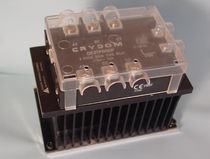 DIN rail mounted three-phase solid state relay 0.1 - 30 A, max. 530 V | APC2013, APC2013-1 Anacon Power & Controls