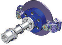 disc brake for wind turbine  TWIFLEX