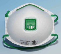 disposable particulate filter mask EN149 | GREEN DEVIL series INFIELD SAFETY