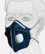disposable respirator with exhalation valve 3 kg ICEA