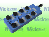 distribution box for sensors DE-8P5/4P-V05 or DE-8P5/4N-V05 WICK ELECTRONIC COMPANY LIMITED