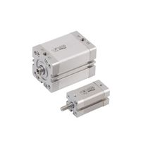 double acting compact pneumatic cylinder ø 16 - 100 mm, ISO 21287 | CM series Airwork pneumatic equipment