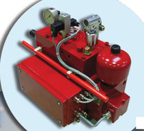 double-acting hydraulic actuator 210 bar, 14 l/min | HKA series EMG Elektro Mechanik