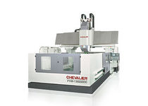 double column 3-axis CNC vertical machining center 6 100 x 3 000 x 1 000 mm | FVM-6034DCL CHEVALIER - Falcon Machine Tools