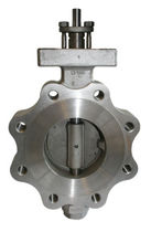 double offset butterfly valve (high performance) DN 50 - 600 | 2540 Dansk Ventil Center A/S