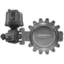 "double offset butterfly valve (high performance) 14"" - 24"", class 300 