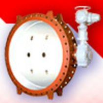 double offset butterfly valve (high performance) DN 100 / DN 2000 Reg Technology
