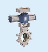 double offset butterfly valve (high performance) DN 80 - 2 000, PN 50 Zuercher Technik
