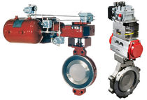 "double offset butterfly valve (high performance) 3"" - 48"" GE Energy, Valves - Control & Safety"