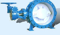 double offset butterfly valve (high performance) DN 100 - 1 200, 1.6 MPa | D343X Tianjin Tanggu Water-Seal Valve Co., Ltd