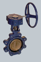 double offset butterfly valve (high performance) DN 40 - 600, max. 25 bar  Göpfert AG