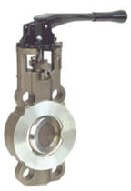 double offset wafer butterfly valve (high performance) DN 50 - 400, max. 50 bar | 5000 B series BURACCO