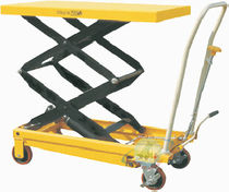 double scissor hydraulic lift table max. 350 kg, max. 1 300 mm | PC350D CARMECCANICA