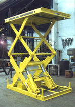 double scissor hydraulic lift table STXXS series Bushman