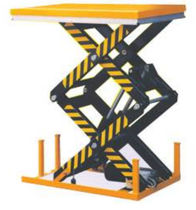double scissor lift table 1 000 - 2 000 kg | SLT-H  H.E.S