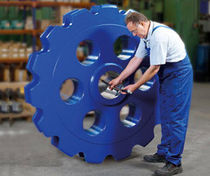 double sprocket wheel for the steel industry  Ketten Wulf