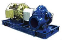 double suction split case centrifugal pump max. 1 590 m³/h (7 000 gpm) | HSD RUHRPUMPEN