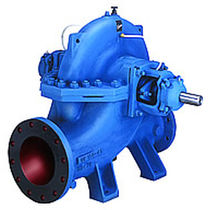 double suction split case centrifugal pump max. 20 000 m³/h | UP series Kirloskar Brothers Ltd.