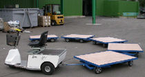 double swiveling axle trailer 500 - 2 000 kg | Mono-track STI INDUSTRIE