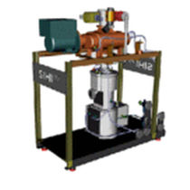 dry running Roots pump vacuum unit max. 4 000 m³/h, 0.001 mbar | SIHIdry series Sterling Fluid Systems