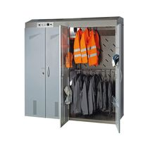 drying locker for work clothes 3 460 W | Eole Team DRYTECH