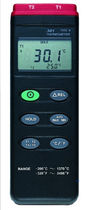 dual channel digital handheld thermometer -200 - 1370 °C | TC 301 Dostmann electronic