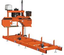 "dual column horizontal band saw for wood max. ø 28"" x 11' (ø 710 x 3 300 mm) 