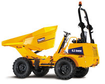 dumper with swiveling skip 4 500 kg  Thwaites Limited