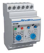 earth leakage differential relay max. 30 A, max. 10 s | 1RDT30k - A Revalco