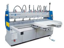 edge polishing machine max. 2100 x 340 x 50 mm | MECADIAM MECANUMERIC