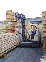 electric 4-way side loader forklift truck 4.5 - 7 t, 3 000 - 10 000 mm | 2131 series HUBTEX