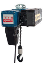 electric chain hoist 125 - 2 000 kg | DLK Series DONATI SOLLEVAMENTI