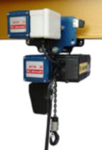 electric chain hoist with electric trolley 125 - 2 000 kg | DLK series  DONATI SOLLEVAMENTI
