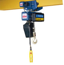 electric chain hoist with electric trolley 125 - 4 000 kg | DMK series  DONATI SOLLEVAMENTI