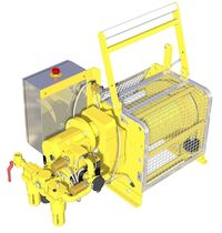 electric manriding winch for offshore applications max. 1 270 kg | MR 30 FL  EMC&Eacute;
