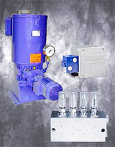 electric multi line centralized lubrication system Helios&reg; Lincoln