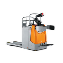 electric pallet truck with rider platform max. 2 t, max. 130 mm | EXU-SF 20 STILL