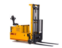 electric pedestrian counterbalanced stacker 1 500 - 4 000 lb  Man & Material Lift Engineering